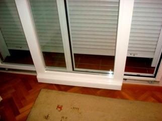 fenêtre parallèle oscillant